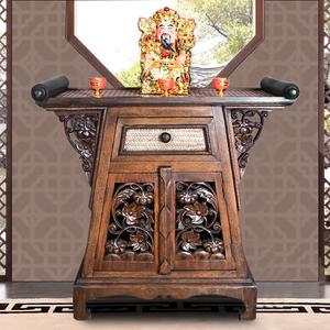 复古供桌中式家用香案佛桌佛龛神台供桌供台中式现代简约客厅家用