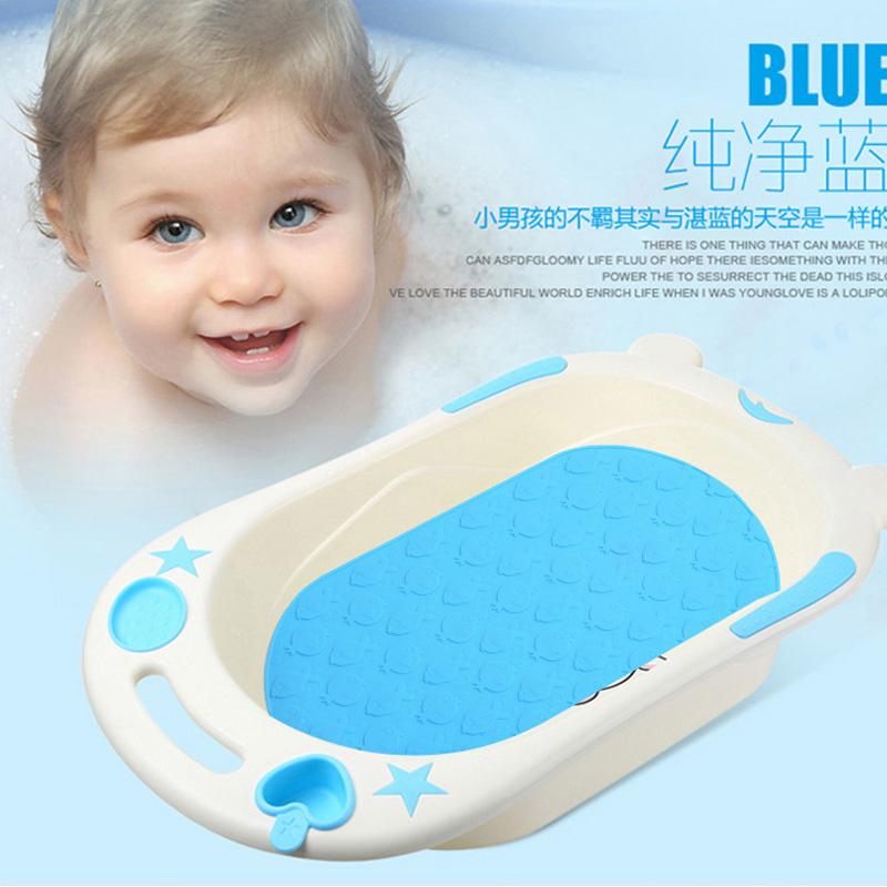 硅胶浴室防滑地垫宝宝洗澡盆婴儿浴盆卫生间淋浴隔水吸盘浴缸坐垫