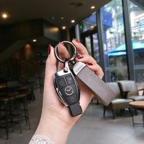创意汽车钥匙扣卡通包包挂件女少女心可爱鸭公仔软胶钥匙链圈