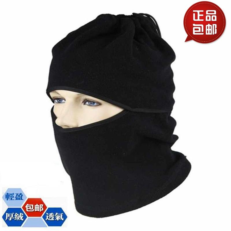 户外保暖防风头套TCM帽滑雪帽CS面罩抓绒帽子运动围脖骑行护头帽