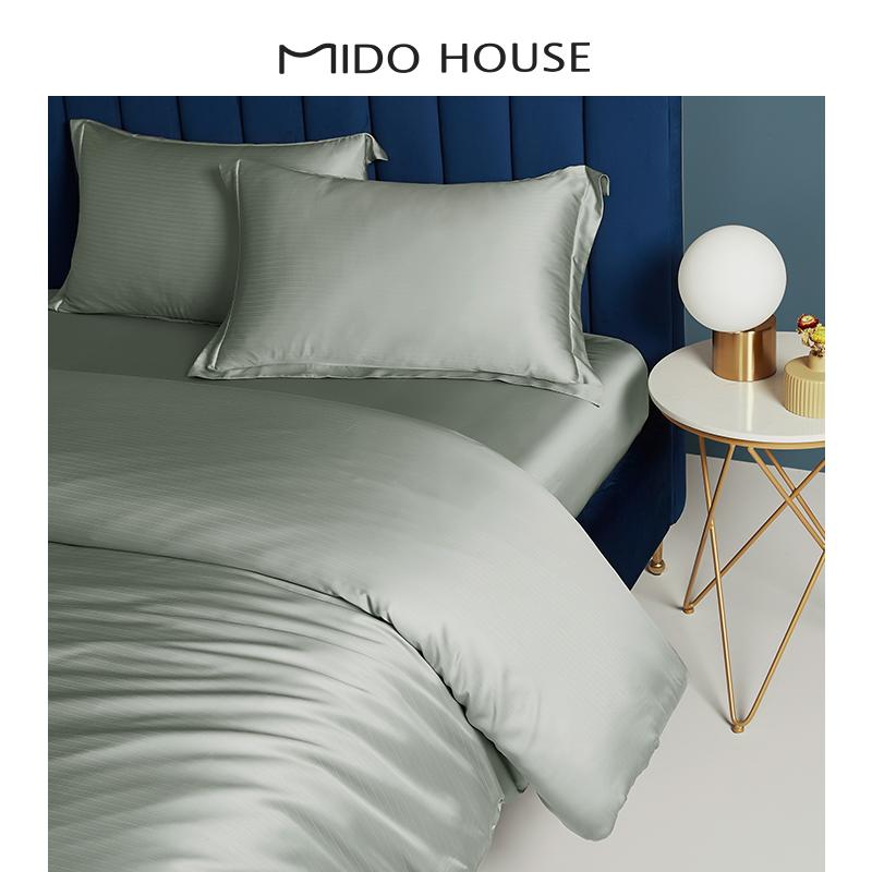 60支床品天丝四件套双面莱赛尔床单床笠提花款裸睡床上用品