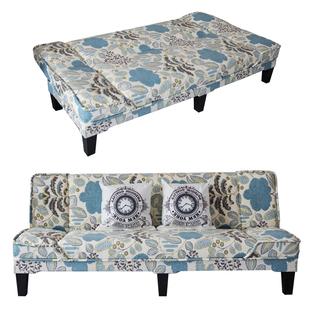 小户型沙發客廳網紅款出租房屋可摺疊牀兩用美容院雙三人布藝沙發