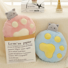 Kitty doll lovely birthday gift Kitty paw cute plush toy bed with you sleep pillow super soft doll