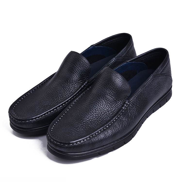 Brand store leather shoes genuine spring 2019 255910301nqb deer leather casual leather shoes daily dad shoes rqb