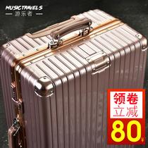 行李箱万向轮牛津布旅行箱子34寸超大航空托账拉杆箱出国46特大号