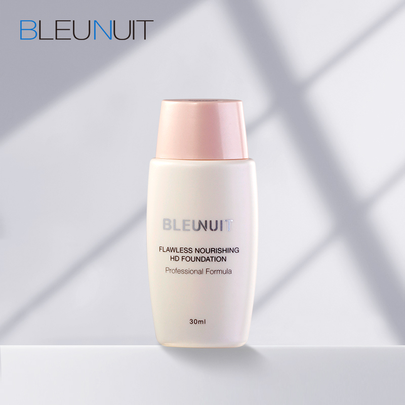 BLEUNUIT/深蓝彩妆水嫩丝柔无瑕粉底液 细腻顺滑保湿遮瑕提亮肤色