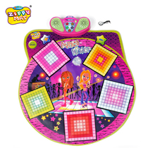 Zippymat Childrens toddler early education puzzle e-Learning music mat game Dance Machine Dance Blanket Toys