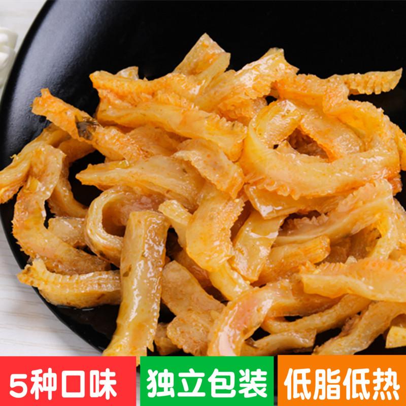 烛山魔芋干辣条陕西安康特产魔芋爽素毛肚小包装多口味零食500g