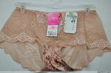 Hong Kong garment of ai ms poem high-grade lace sexy female underwear briefs transparent shorts listed on the new value