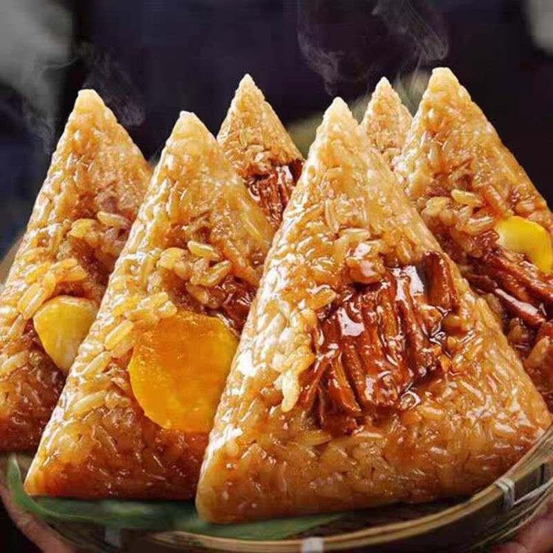 嘉兴粽子多种口味160g大粽子蛋黄鲜肉粽子端午礼盒