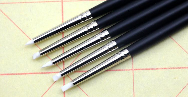 5 палочки силиконовый карандаш оставаться белый пластик жидкость специальный карандаш акварель живопись пропионат огненный цвет гуашь моделирование карандаш живопись мышца причина карандаш