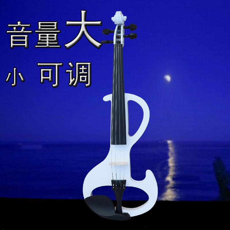 SOYOTO-EV18微�到大��子小提琴 白色小提琴