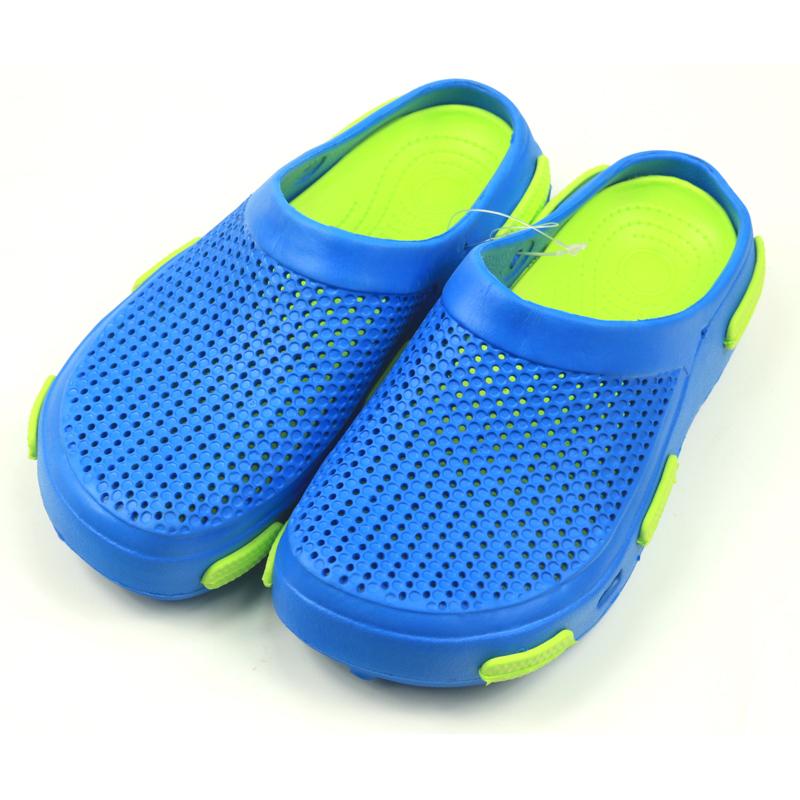 2双包邮夏季清仓 中大童细孔洞洞沙滩鞋 防滑轻便拖 耐磨双层底