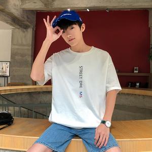 2019时尚新款男生短袖T恤