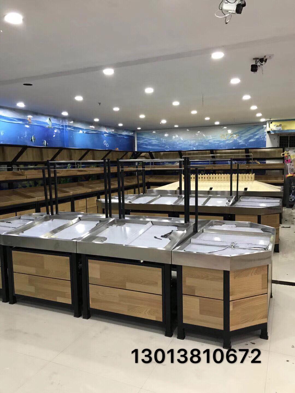 钢木菜蔬菜架子水果店果蔬架生鲜超市货架单层水果货架展示架商用