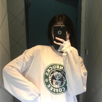 2019春装新款韩版bf原宿宽松薄卫衣