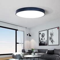 卧室灯吸顶灯现代简约温馨马卡龙灯具led北欧圆形客厅儿童房间灯