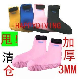 3MM thick socks with Velcro Dive Dive Dive supplies children socks stockings adult Diving
