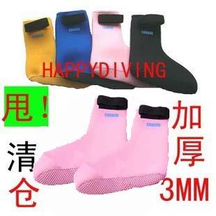 3мм носки с липучкой Dive Dive Dive поставляет детей носки / чулки для взрослых Подводное плавание