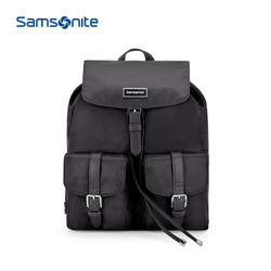 Samsonite/新秀丽34N双肩包周冬雨明星同款新商场商务双肩背包女