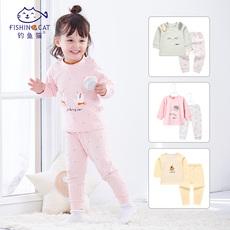 婴儿内衣套装两件套