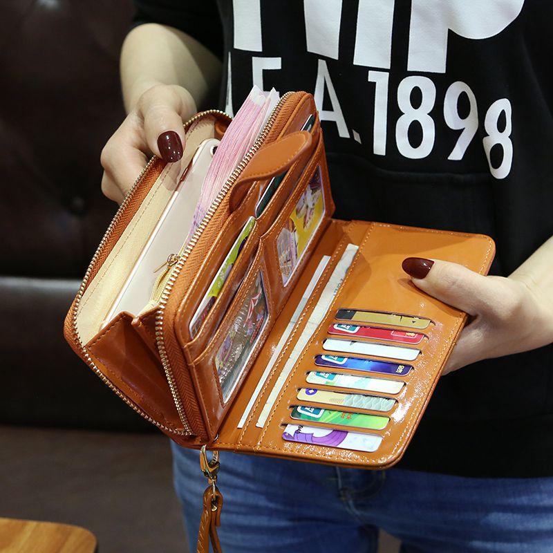中國代購|中國批發-ibuy99|钱包|2021新款多功能女士钱包女长款多卡位钱夹女式时尚大容量手拿包潮