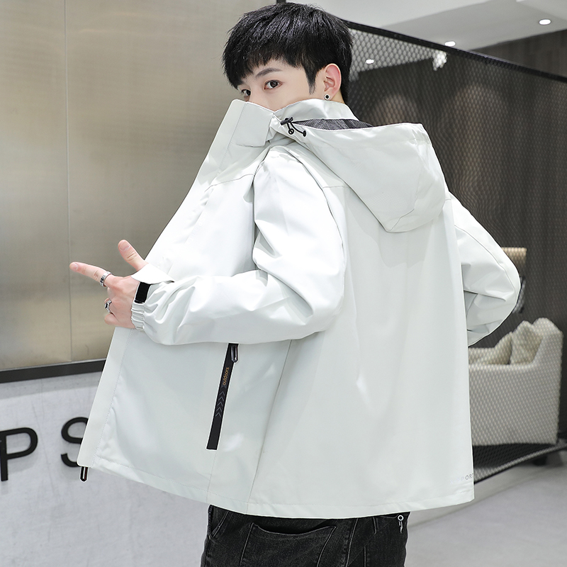 2021 good autumn and winter jacket mens coat casual loose outdoor sports stormsuit men