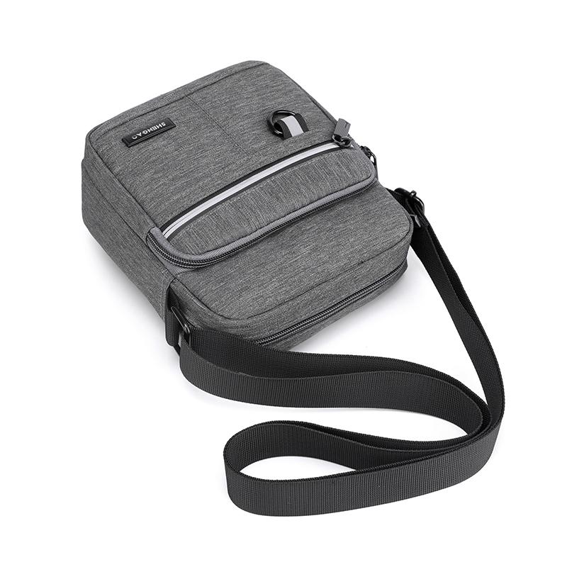 男包牛津布单肩斜挎包休闲帆布包男士包包背包小包手机包2020新款