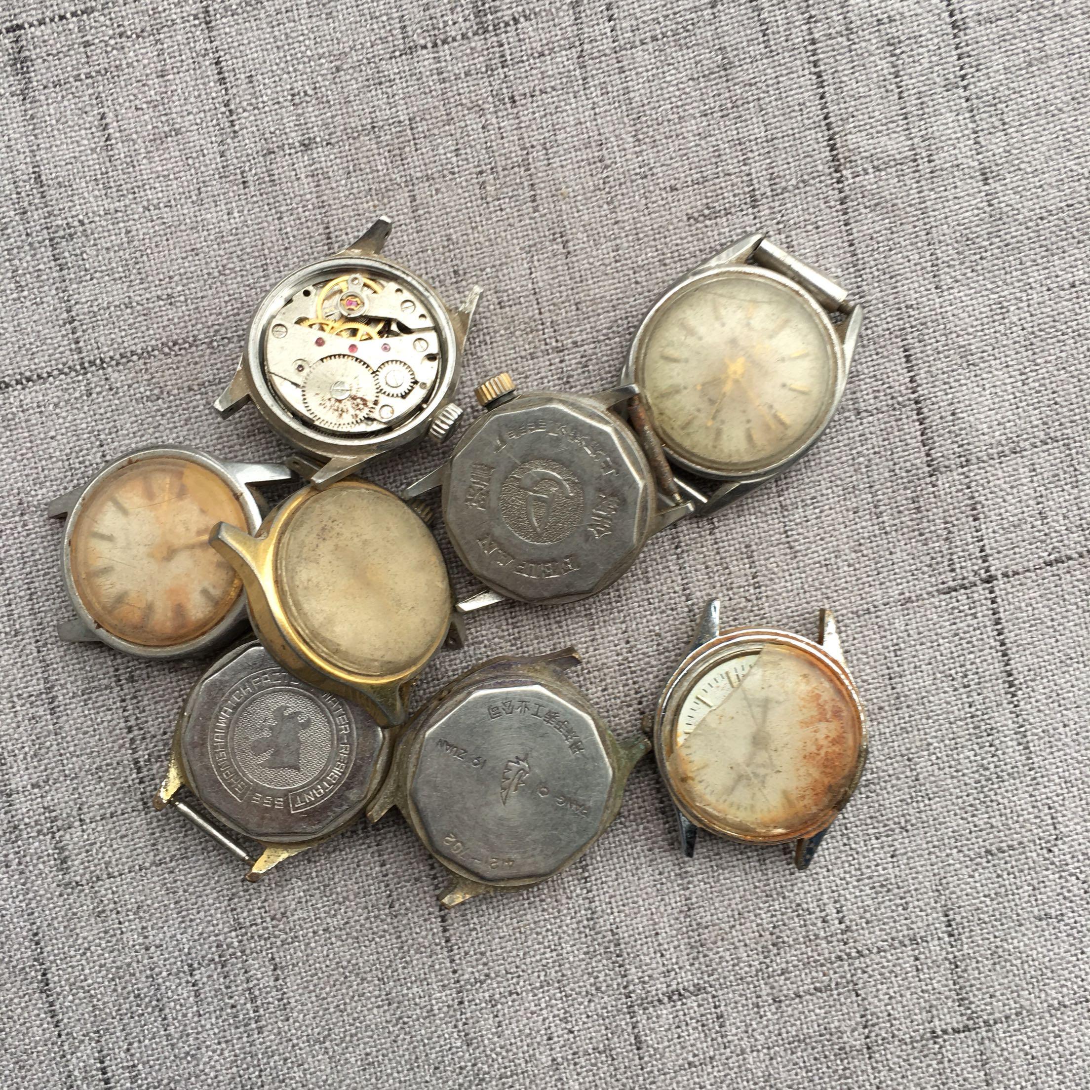 女表练手表拆机练手表旧手表手表配件 蒸汽朋克手工diy材料