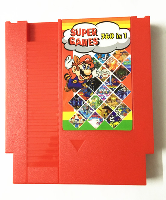 任天堂原�bNES游��C60P�D�Q72P卡��NES合卡 NES 360合一游�蚩�