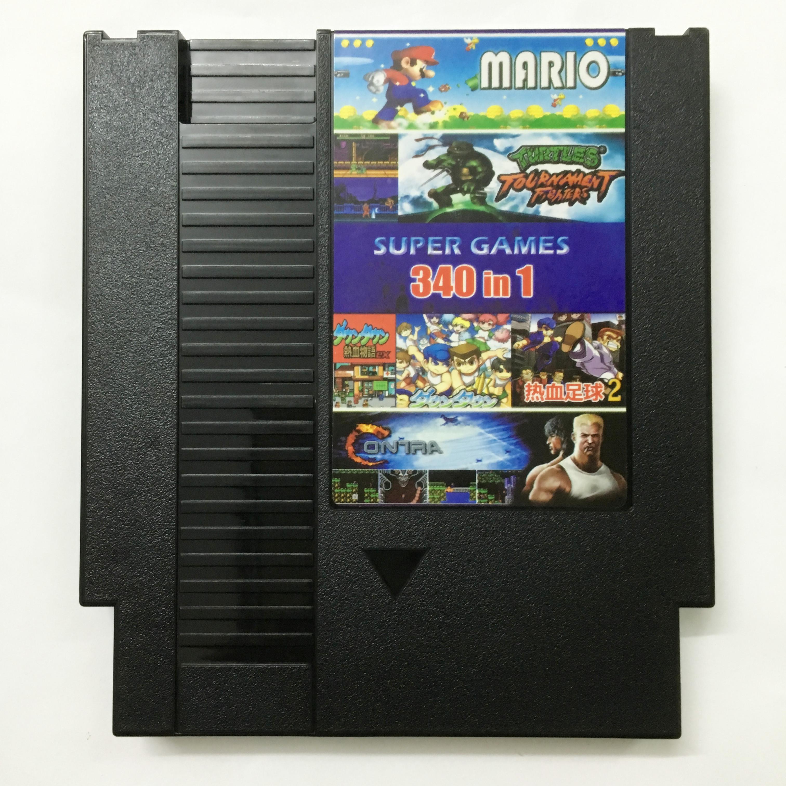 任天堂原�bNES游��C60P�D�Q72P卡��NES合卡 NES 340合一游�蚩�
