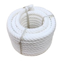 White nylon tug-of-war rope 30 m tug rope high quality tug rope race to send Whistles