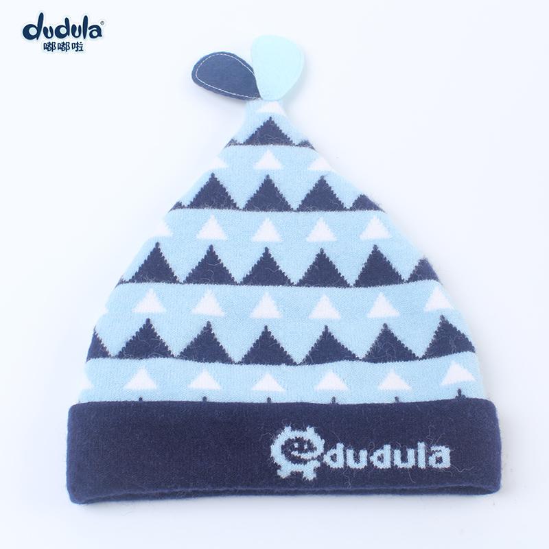 嘟嘟啦 嬰兒帽子 3~6個月寶寶毛線帽1~2歲舒適保暖嬰幼兒帽子包郵