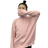 Winter Women Korean fashion loose long-sleeved pullover sweater bottoming petals curling sweater jacket influx of students
