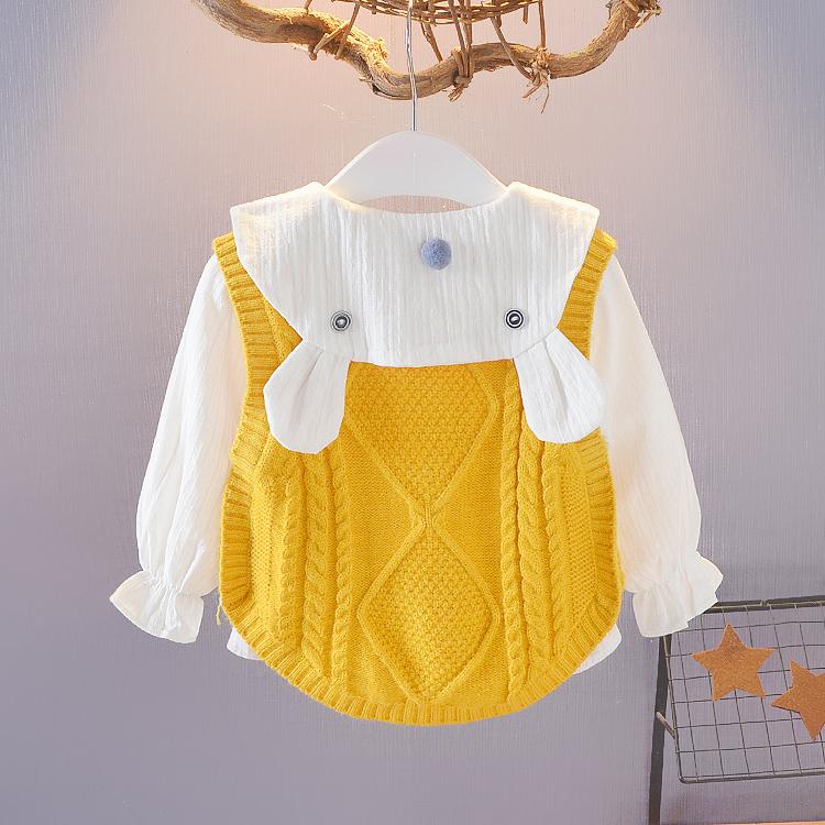 女宝宝春秋装个月婴儿衣服
