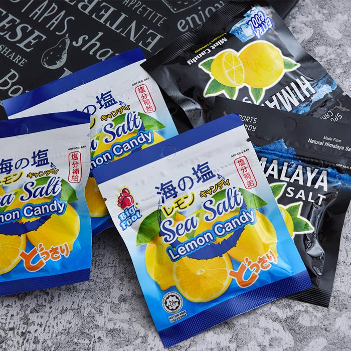 马来西亚进口零食碧富薄荷柠檬味/咸柠檬味糖果润喉糖网红零食