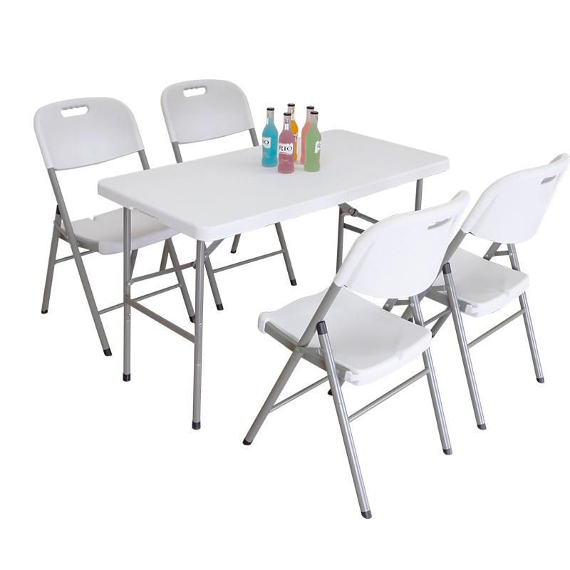 家用餐桌简易摆摊长方形可折叠桌子好不好用