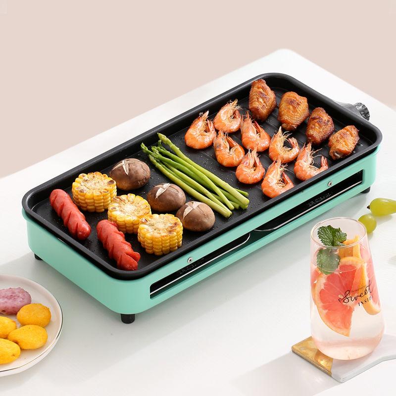 電燒烤爐家用電燒烤架子無煙烤爐小型烤肉爐烤串室內電烤盤烤串機