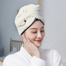 30 seconds quick drying of hair cap women's hair dry towel water absorbent towel long and short hair bath cap quick drying towel