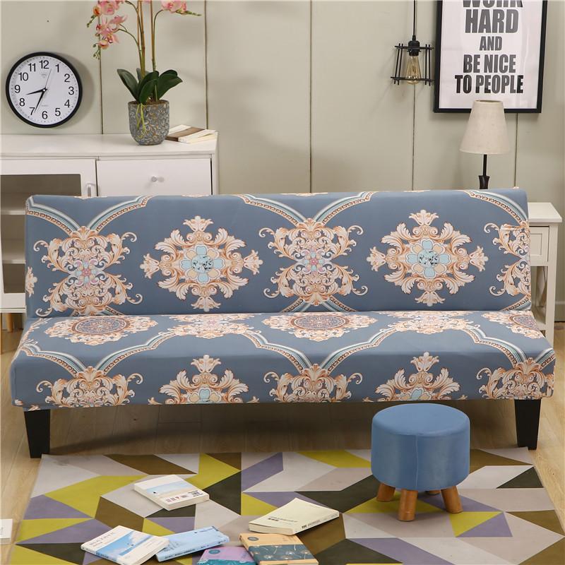 限9000张券折叠沙发床套沙发垫万能全包无扶手双人1.5三人1.8m弹力沙发套子