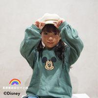日本代购 秋 儿童 Petit Main 迪士尼可爱长袖T恤  80-130cm