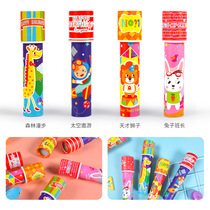 Hibiscus Angel Kaleidoscope Prism children handmade DIY production Science experiment Toy Elementary School telescope