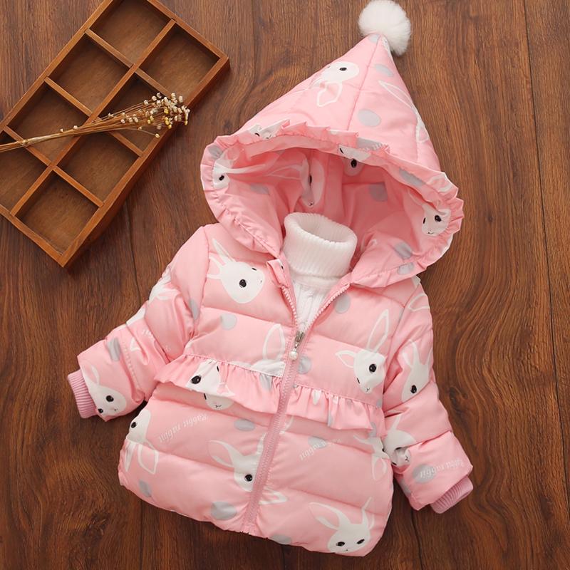 Каждый день специальное предложение ребятишки зима 2017 новая девушка ребенок хлопок ребенок ватник 1 дети девушка пальто 3-4 лет