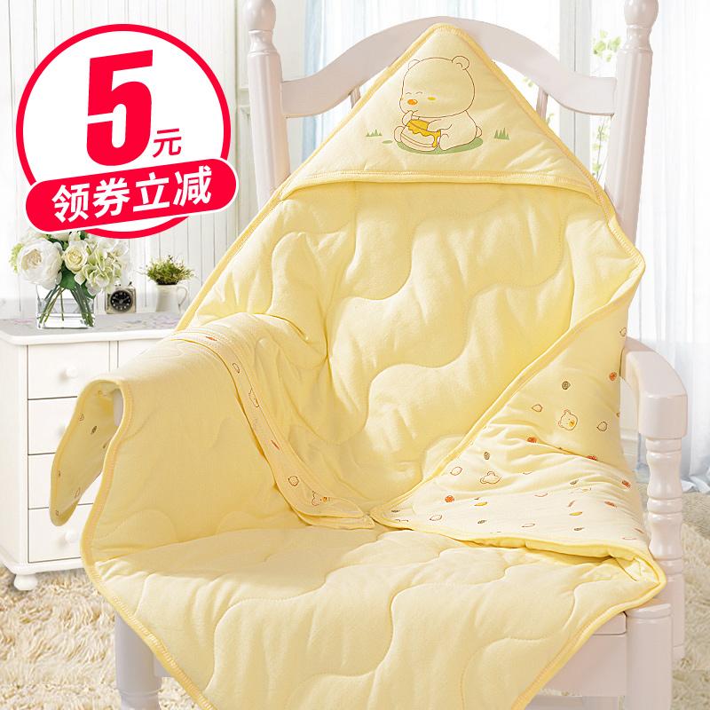 新生儿包被宝宝春秋冬季纯棉抱被子