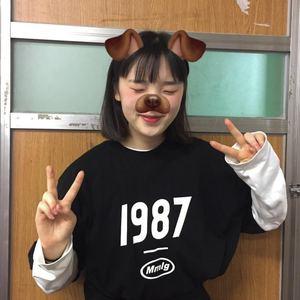 [ REコンテナ] 20年87MM韩国MMLG HF-T 男女同款1987短袖T恤夏季