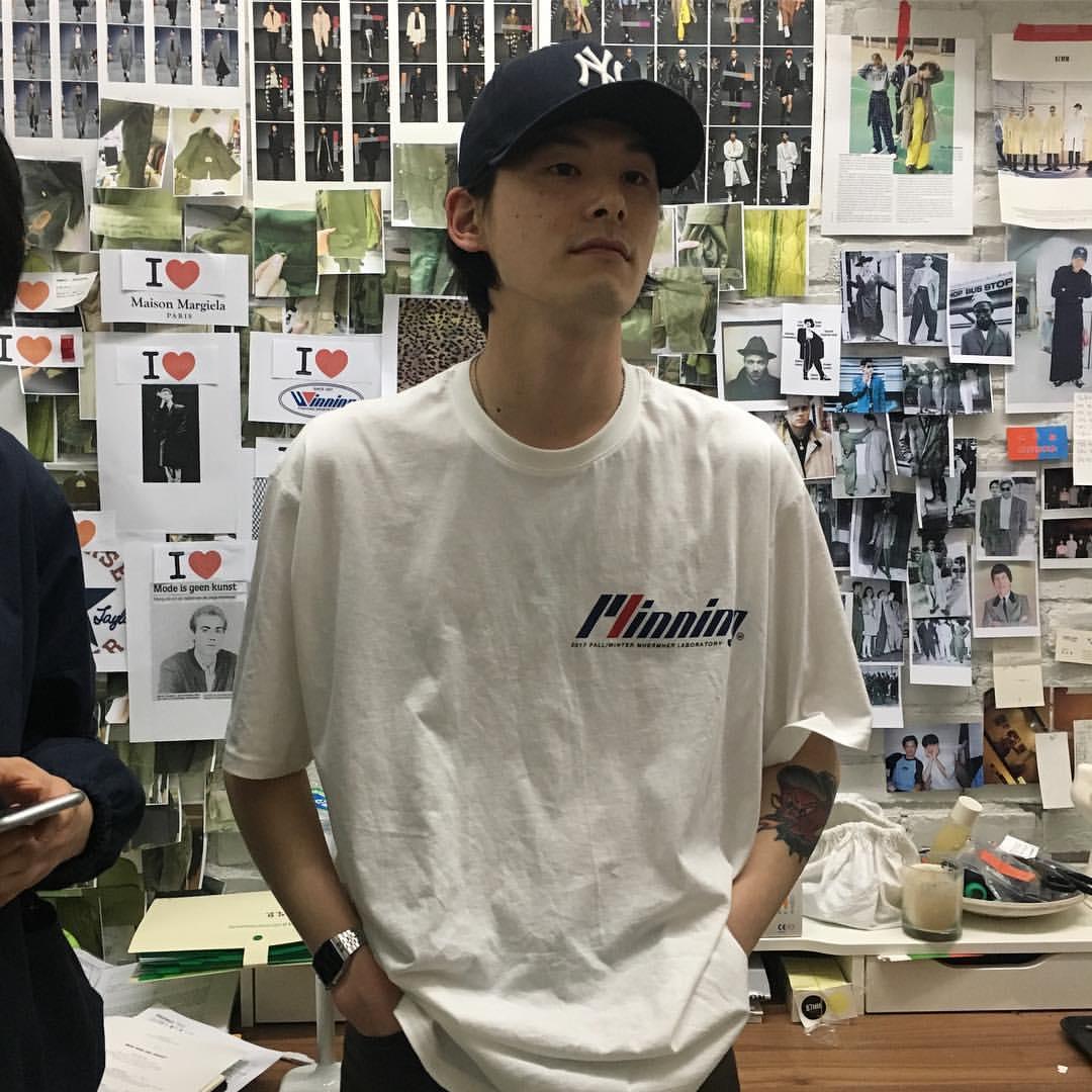 [REコンテナ] 2020韩国定制87MMX字母印花胸口图纯棉情侣款T恤衫 thumbnail