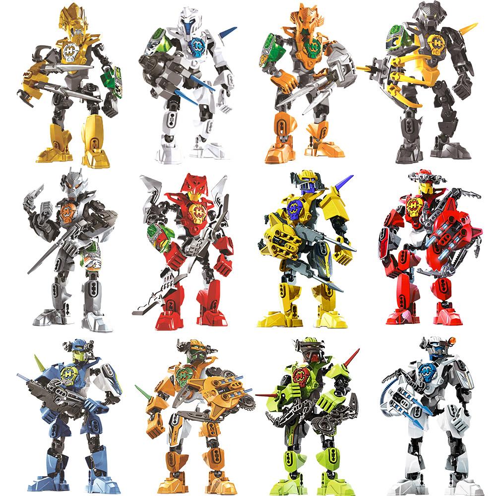 兼容�犯叻e木拼�b玩具英雄工�S3�C器人模型男孩�和�益智�M�b玩具