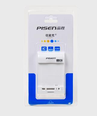 品���能充二代 3.8V 手�C�池座充 快速USB 充�器 送充��