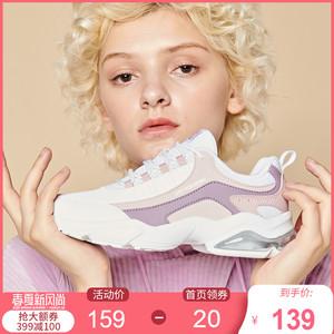 361运动鞋女春季2020新款老爹鞋气垫学生361女鞋ins潮休闲跑步鞋