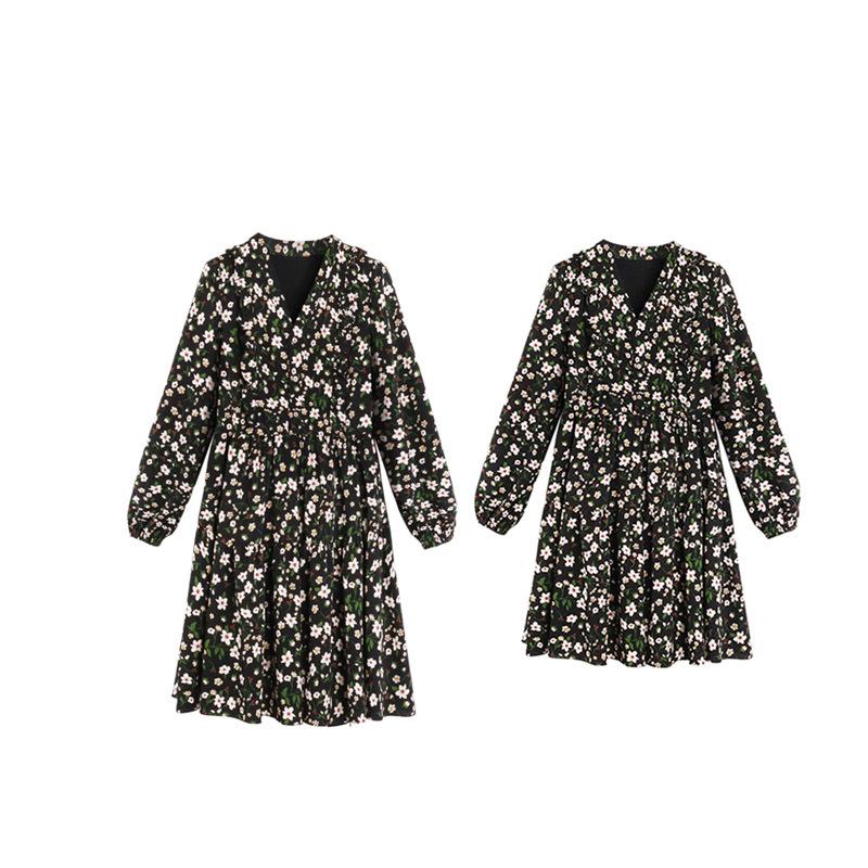 大码胖mm碎花显瘦减龄心机两件套装连衣裙秋季女装2020年新款时尚